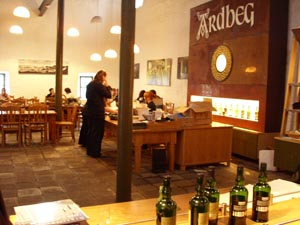 Ardbeg Distillery Cafe